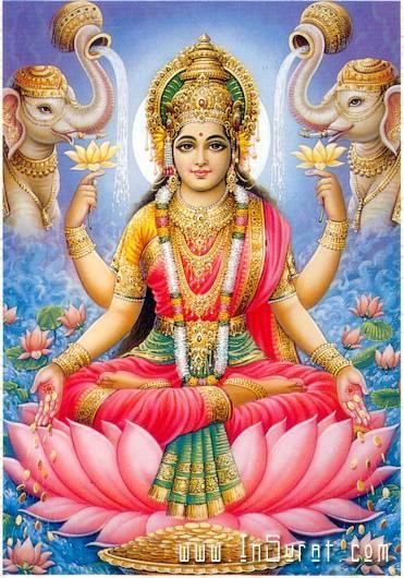 Lakshmi, Godin van Rijkdom en Overvloed