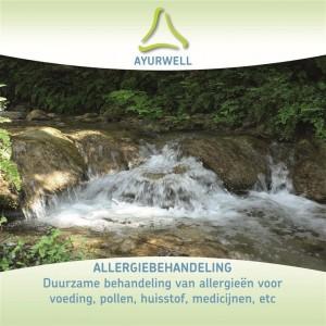 Flyer AyurWell Allergiebehandeling